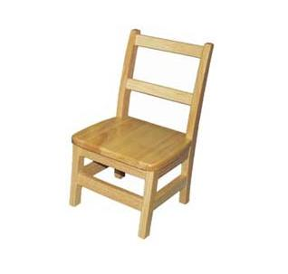 Daycare Furniture Wooden Highchair Preschool Wooden Chair