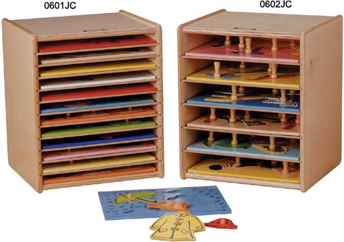 Melissa and Doug Wooden wooden puzzle rack Fishbowl giant Knob Puzzle.