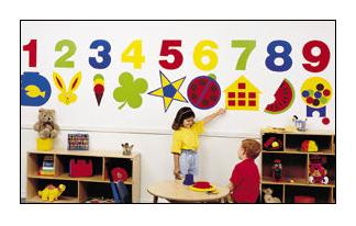 Daycare Decor Decorating Vinyl Wall Murals Preschool