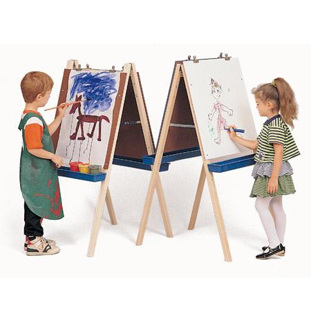 preschool art easels easel supplies arts and crafts supplies for early childhood classrooms. Black Bedroom Furniture Sets. Home Design Ideas